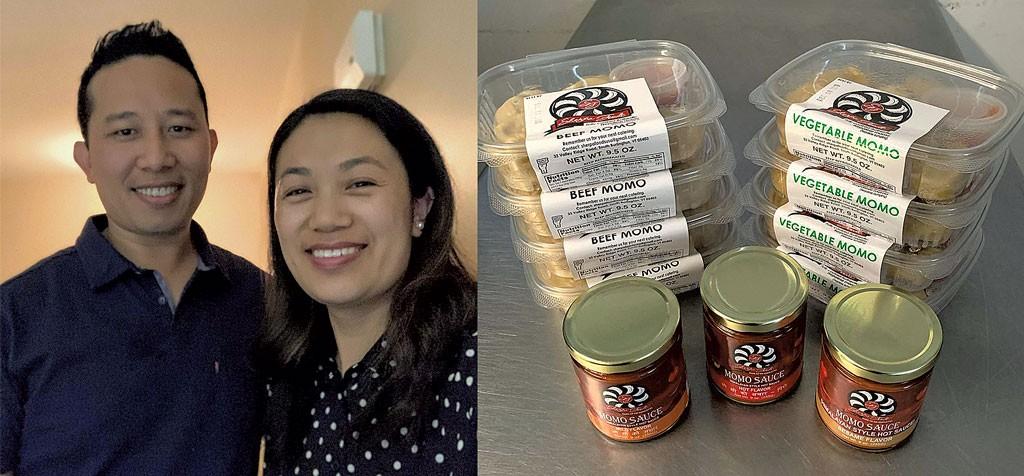 Nurbu and Phura Sherpa, momos from Sherpa Foods - COURTESY OF SHERPA FOODS