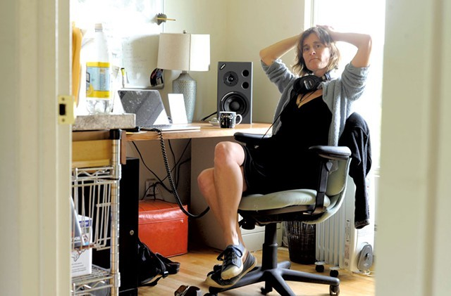 'Rumble Strip Vermont' podcast producer Erica Heilman - FILE: JEB WALLACE-BRODEUR