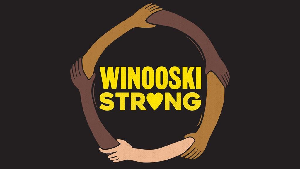 """Winooski Strong"" T-shirt design - COURTESY OF CRAIG MITCHELL"