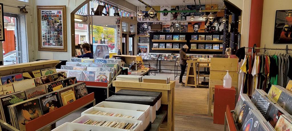 Buch Spieler Records in Montpelier - JORDAN ADAMS ©️ SEVEN DAYS