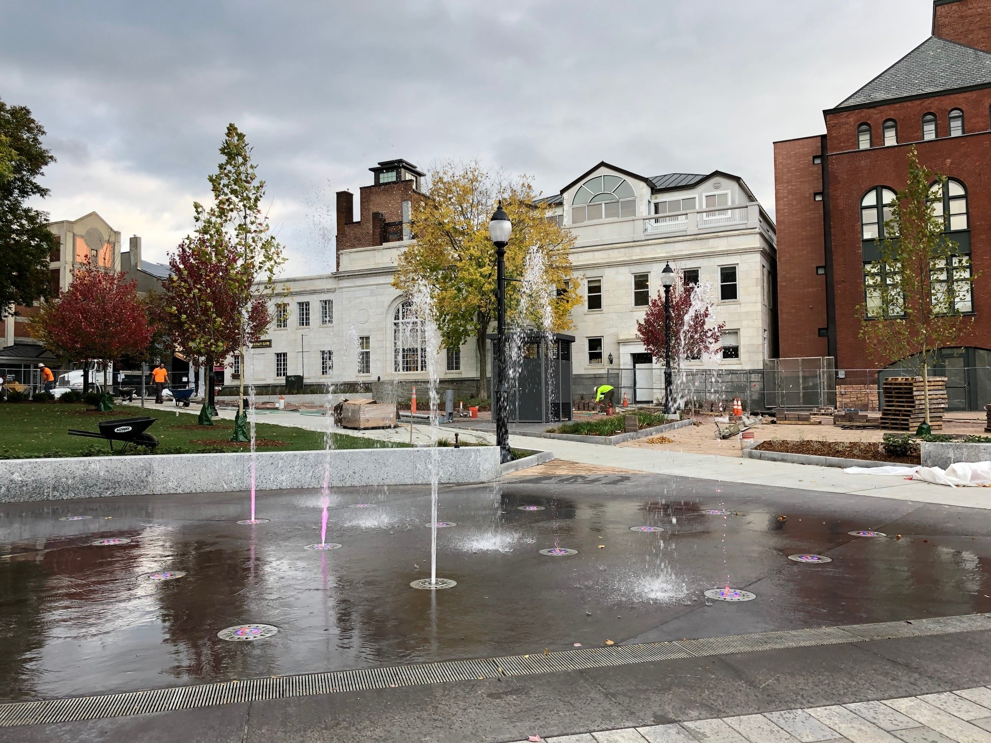 Burlington S City Hall Park To Reopen This Week Off Message