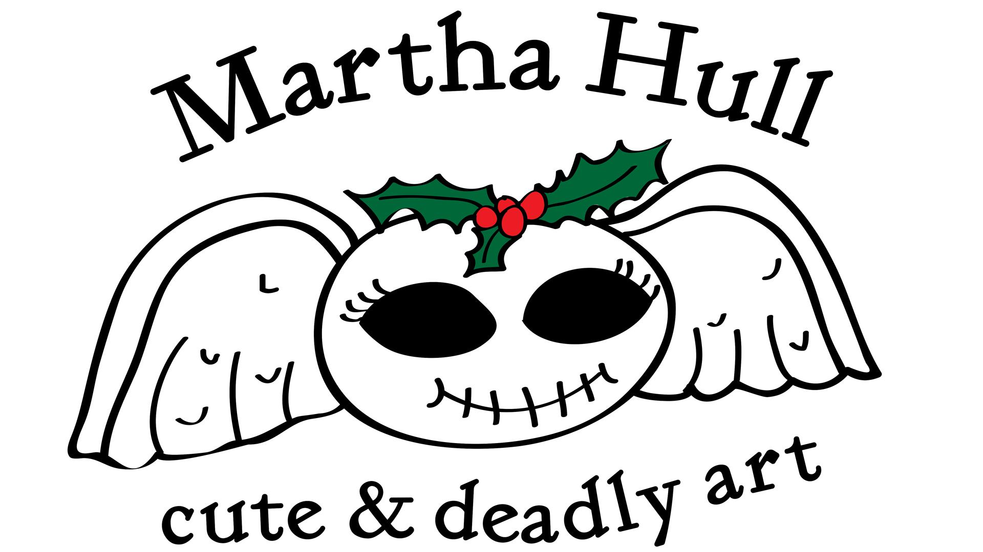 Martha Hull's Cute + Deadly Art