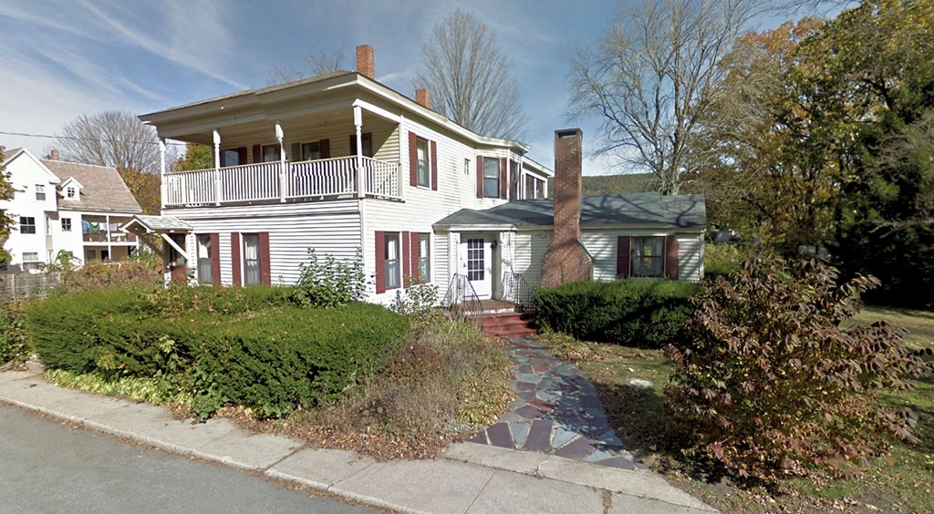 Catherine Tolaro's home, which was left to Windham County Side Judge Paul Kane in her will - © 2016 GOOGLE