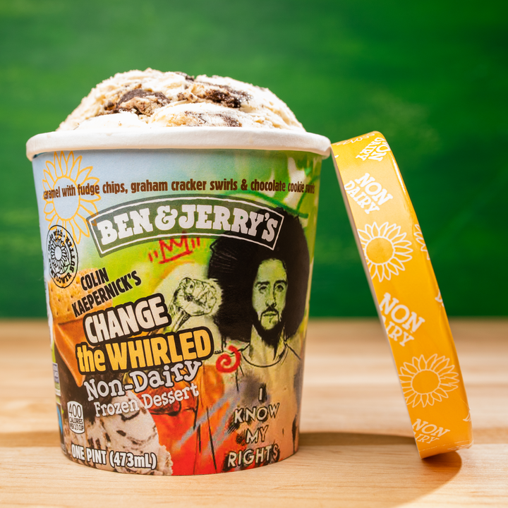 Ben & Jerry's and Colin Kaepernick Team Up for Vegan Ice Cream
