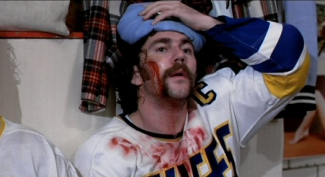 Allan Nicholls as Johnny Upton in Slap Shot - UNIVERSAL PICTURES