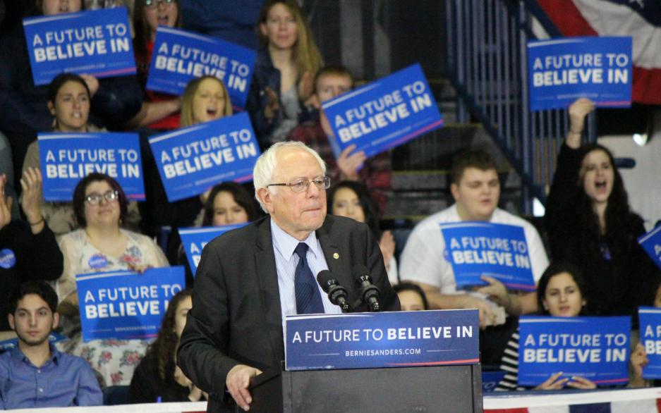 Sen. Bernie Sanders (I-Vt.) - SEVEN DAYS/FILE
