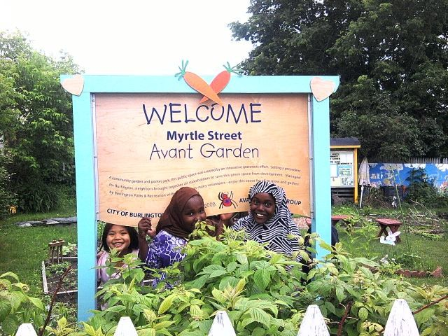 Myrtle Street Community Avant Garden - COURTESY OF BURLINGTON CITY ARTS
