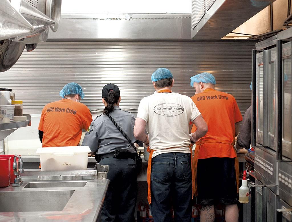 Vermont Inmates Take to the Kitchen With Farm-to-Prison