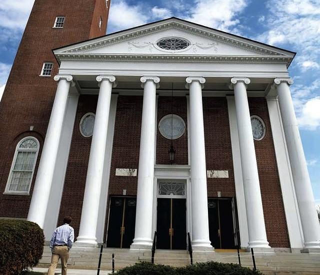 Ira Allen Chapel, UVM Campus - FILE: ASHLEY CONTI
