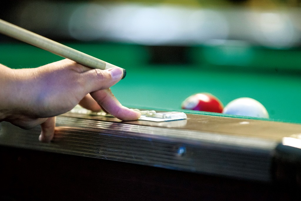 Amateur physics for the amateur pool player