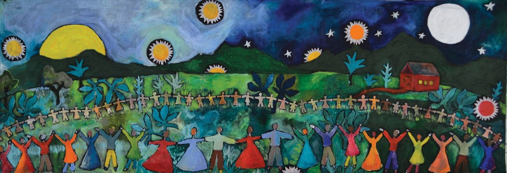 "Mary Hill, ""Gather Together"""