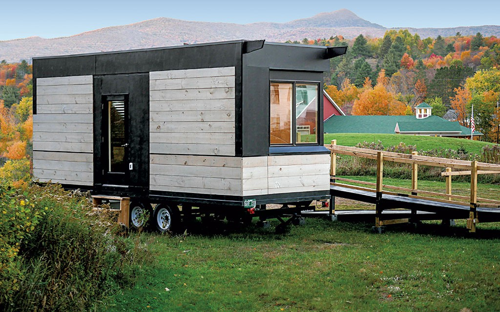 A vermont company designs handicap accessible modules for for Wheelchair accessible modular homes