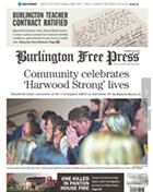 Tuesday's Burlington Free Press