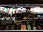 Deli case at Costello's Market