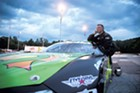 Governor-elect Phil Scott at Barre's Thunder Road SpeedBowl