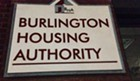 Sign on Burlington Housing Authority headquarters on Main Street