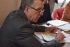 Gov. Phil Scott at Thursday's Emergency Board meeting