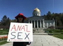 Montpeculiar: A Message of 'Anal Sex' in Front of the Statehouse