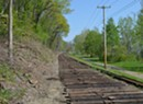 Vermont Railway Extends Track Along the Burlington Bike Path