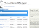 <i>Seven Days</i> Releases Database Driving Its Series on Vermont's Nonprofit Economy