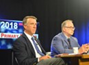 Guns and Taxes: Scott, Stern Face Off in First Gubernatorial Debate