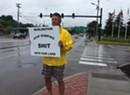 Making a Stink: Man Protests Burlington's Wastewater Dumps