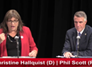 Walters: Scott, Hallquist Draw Clear Contrasts in Second Debate