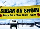 Sugar-on-Snow Party