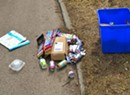 The Parmelee Post: Local Recyclables Take to the Streets to Demand Covered Bins
