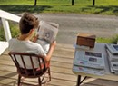 Paper Pusher: Barnard Teen Sells Sunday <i>New York Times</i> From His Porch