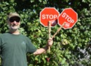 Crossing Guards for Sanders? Burlington Man Says 'Go'