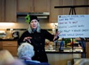A Heart-Healthy Workshop at HANDS Engages Seniors With Food