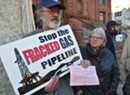 Arrests Outside State Offices Cap Days of Gas Pipeline Protests