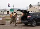 In Swanton, Demand for FEMA-Supplied MREs Exceeded Supply