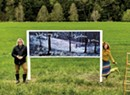 Pawlet Artists Create Pandemic-Era Outdoor Art Gallery in a Hayfield
