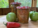 Home on the Range: Green Tomato Salsa