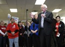 Video: Sanders Addresses Iowa Volunteers Hours Before Caucuses