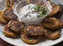 Farmers Market Kitchen: Winter Squash Blini With Cilantro Sour Cream