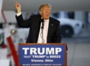 Trump Slams Kasich, Reads Song Lyrics at Primary Eve Rally in Ohio