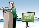 Team Molly: Lt. Gov. Gray Hires a Political Staffer to Stay 'Connected'