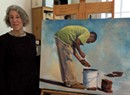Heidi Broner Finds Transcendence in Painting People at Work