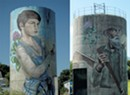 New Silo Murals Link Jeffersonville's Past and Future
