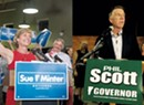 Minter Outraises Scott, But RGA Outspends Both Combined