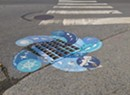 Stream Team Decorates Burlington Storm Drains