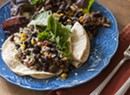 Farmers Market Kitchen: Lamb Merguez Tacos, Warm Salsa Succotash