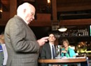 In Winooski, Leahy Draws Cheers Reading New Comey Letter Clearing Clinton