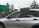 Scenes From the Women's March on Montpelier