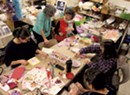 Sparkles, Lace and Love at a Valentine Workshop
