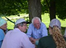 Bernie Sanders Talks Health Care, Cows During Franklin County Visit