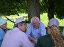 Bernie Sanders Talks Health Care, Cows During Franklin County Visit